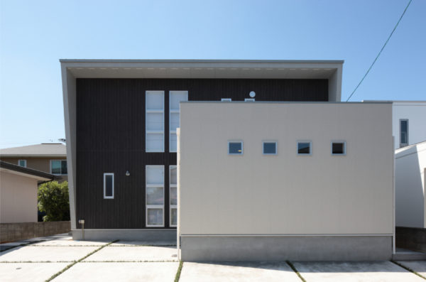 デザイン性のある家