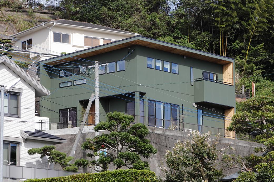 こだわりとプライバシーの棲み分けにこだわった 程好い距離感を愉しむ2世帯住宅の家
